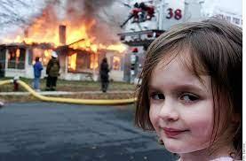 Zoe Roth, 'la niña desastre' vende su famoso meme como NFT por $473,000